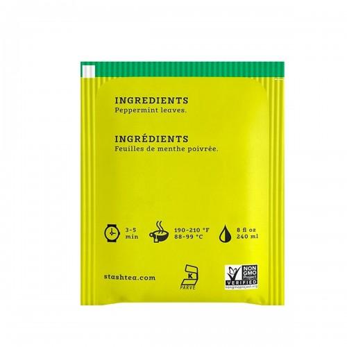 Te STASH Herbal Tea Caffeie-Free Peppermint 20 Bolsitas 20 g T2025 STASH