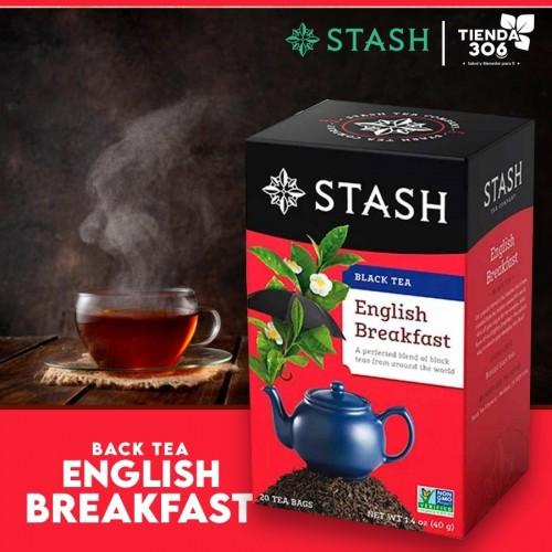 Te STASH Black Tea English Breakfast 20 Bolsitas 40 g T2022 STASH
