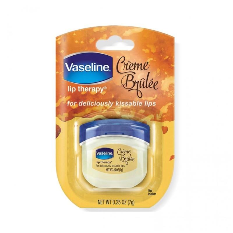 Vaselina para Labios Lip Therapy de Vaseline Creme Brulee Made In The USA 0,25 oz (7g) C1097 Vaseline