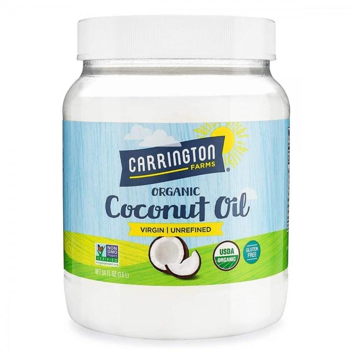 Aceite de Coco 100% Orgánico y Virgen Carrington 54 FL OZ (1.6 L) D1151 CARRINGTON FARMS