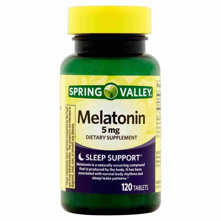 SPRING VALLEY Melatonina 5...