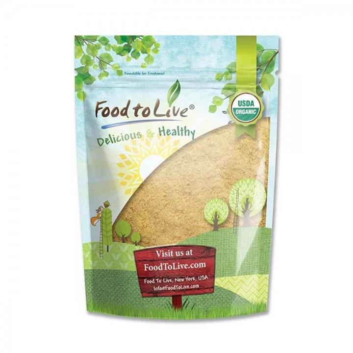 Maca Amarilla Organica en Polvo Food To Live  Certificado Kosher 2 Lbs - Tienda 306