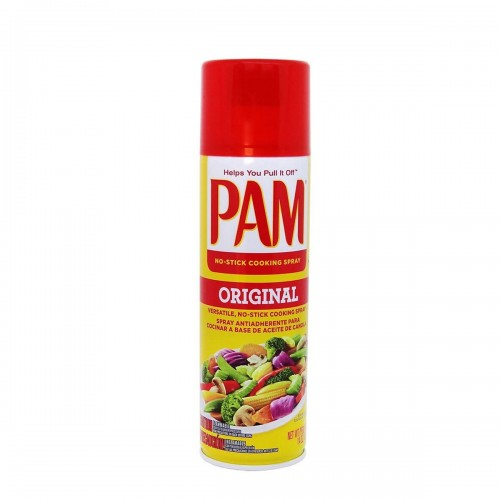 PAM Original Spray Antiadherente para Cocinar a Base de Aceite de Canola 400 g D1153 PAM