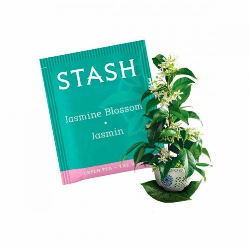 Te STASH Green Tea Jasmine Blossom 20 Bolsitas 38 g T2004 STASH