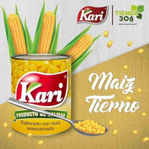 Kari Maiz Tierno en Lata 425g D1157 Kari