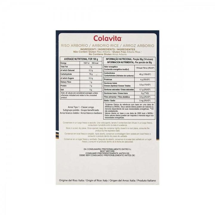 Colavita Arroz Arborio Super Fino 500 g D1129 Colavita