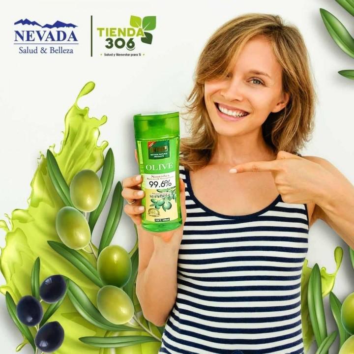 NEVADA NATURAL PRODUCTS Kit Capilar Shampoo + Acondicionador Aceite de Oliva 420ml + 200ml C1121 Nevada Natural Products