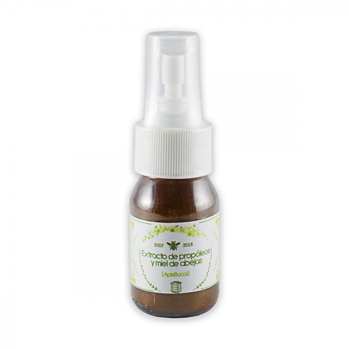 Apisbucal Extracto de Propoleo, Miel de Abejas Organico y Aceite Esencial de Naranja 40 ml C1139 Apis Health