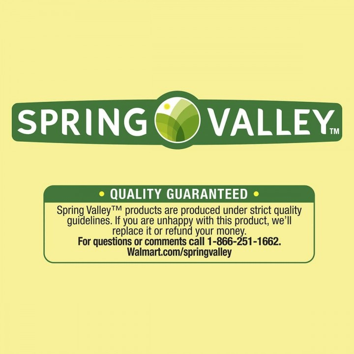 SPRING VALLEY GABA Apoyo Relajacion 750 mg 100 Capsulas V3300 SPRING VALLEY