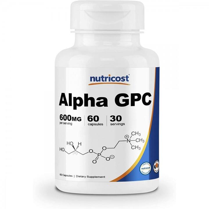 nutricost Alpha GPC Soporte...