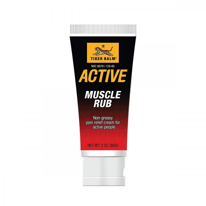TIGER BALM Crema Antidolores Musculares No Grasa 2 OZ (60G) C1126 TIGER BALM