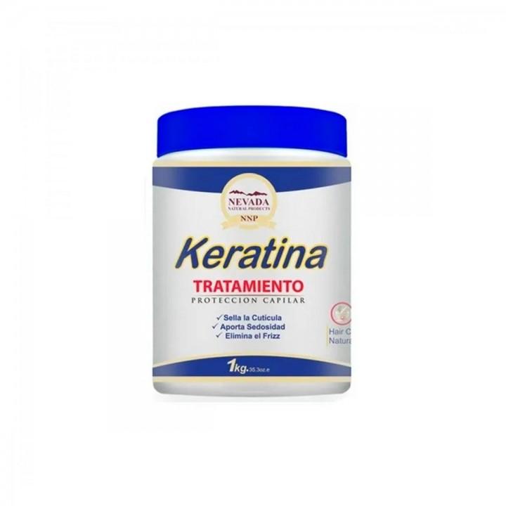 Nevada Tratamiento Keratina 1 K Renovacion y Reconstruccion Capilar C1031 Nevada Natural Products