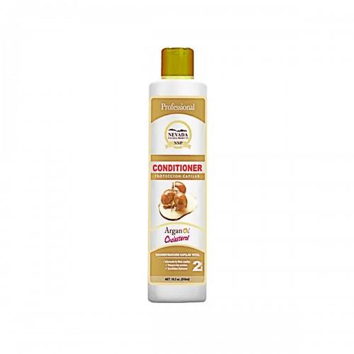 Nevada Shampoo + Acondicionador Aceite De Argan Cholesterol 510 Ml Reconstruccion Capilar Total C1128 Nevada Natural Products