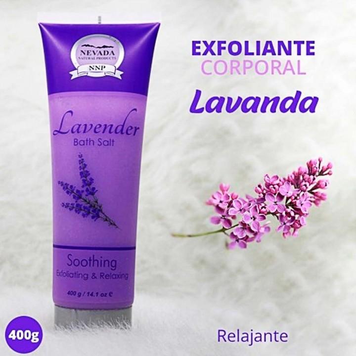 Nevada Crema Exfoliante y Relajante Lavanda 400g C1025 Nevada Natural Products