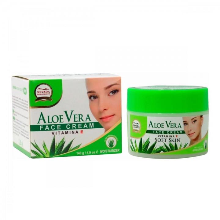 Nevada Crema Facial Aloe Vera Regeneradora Vitamina E 140g C1035 Nevada Natural Products