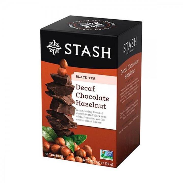 Te STASH Black Tea Decaf Chocolate Hazelnut 18 Bolsitas 36g T2052 STASH