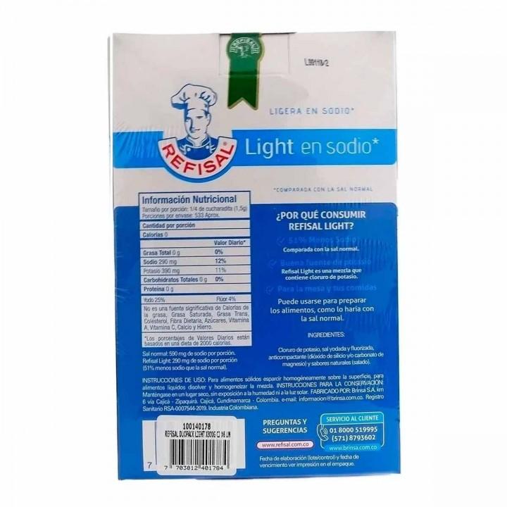Sal Light Refisal 50% Menos en Sodio tienda 306 1