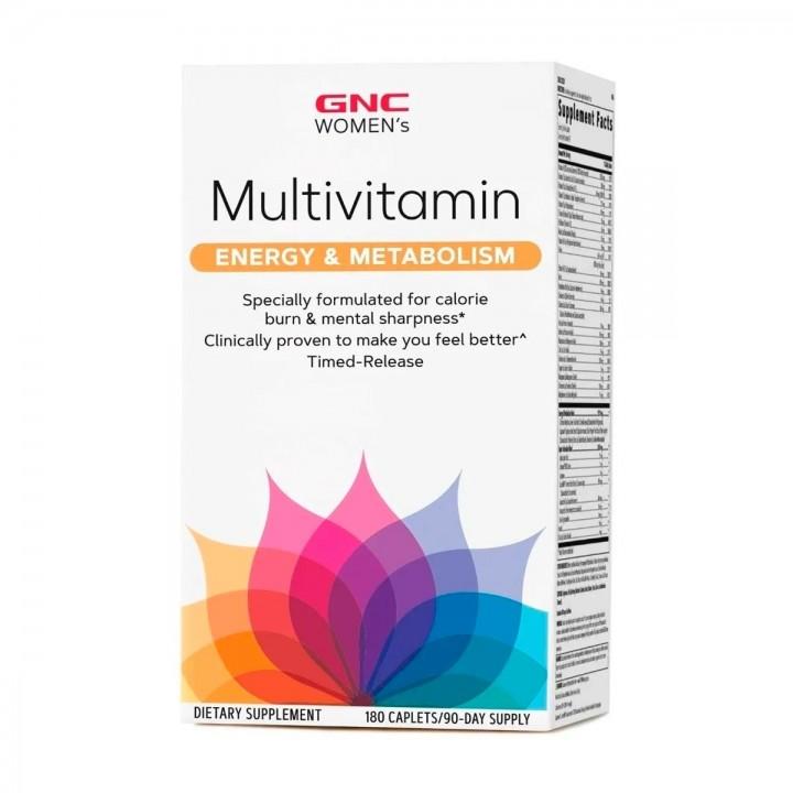 GNC Womens Multivitamina Mujer Energia Y Metabolismo Tienda 306
