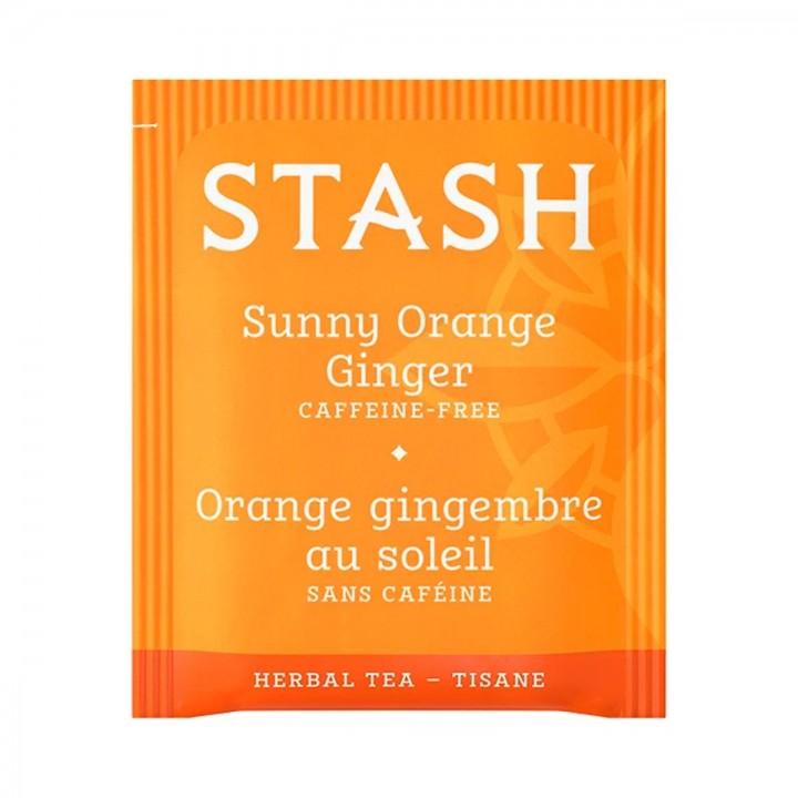 Te STASH Herbal Tea Sunny Orange Ginger Caffeine Free 18 Bolsitas 36 Gramos T2001 STASH