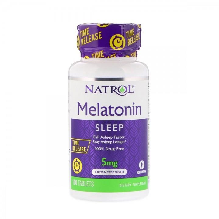 Natrol Melatonin Sueño Prolongado 5mg Tienda 306