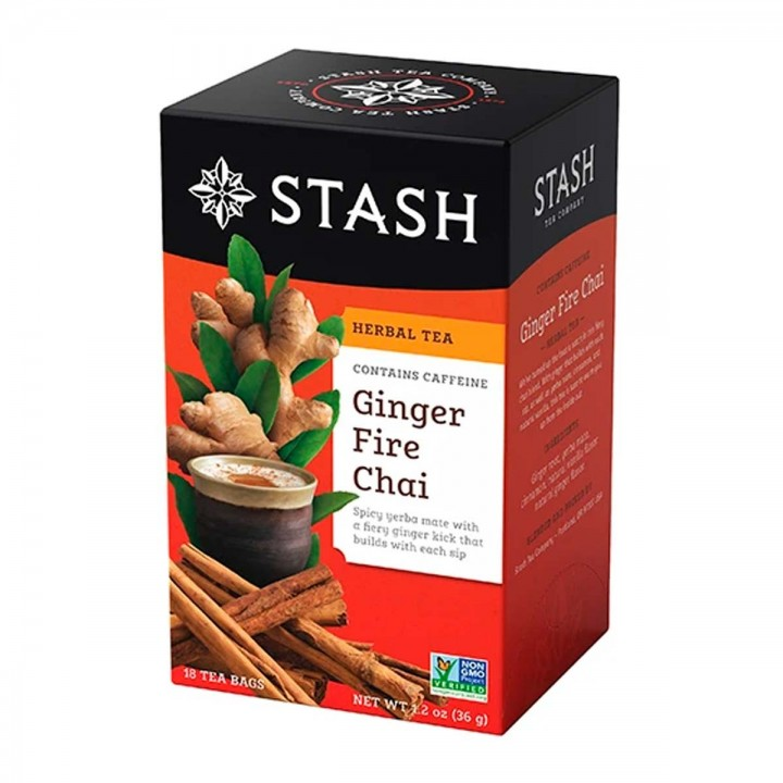 Te STASH Herbal Tea Ginger Fire Chai - Tienda 306