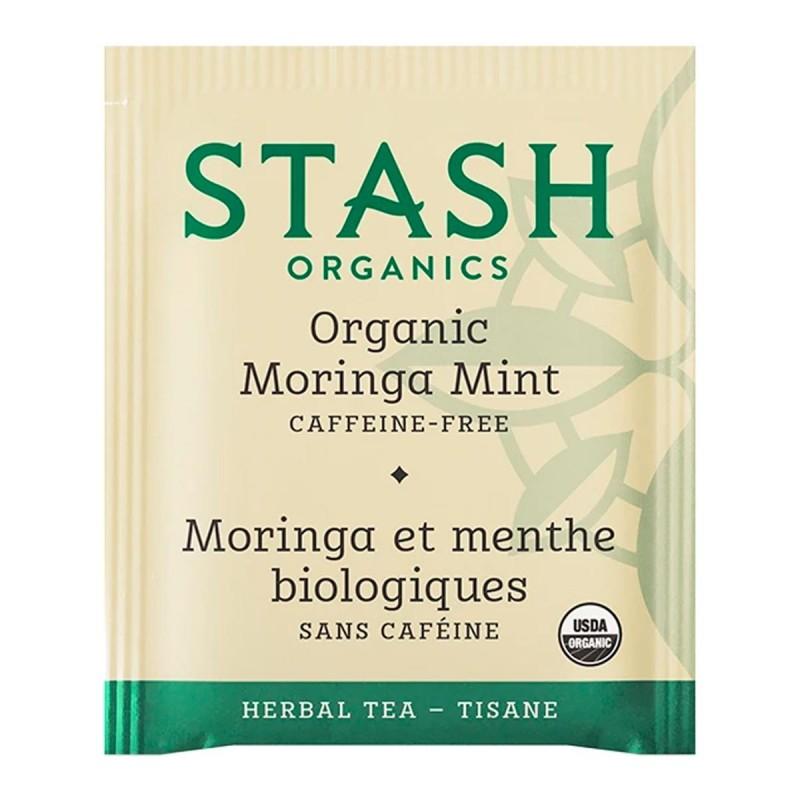 Te STASH Organic Herbal Tea Moringa Mint