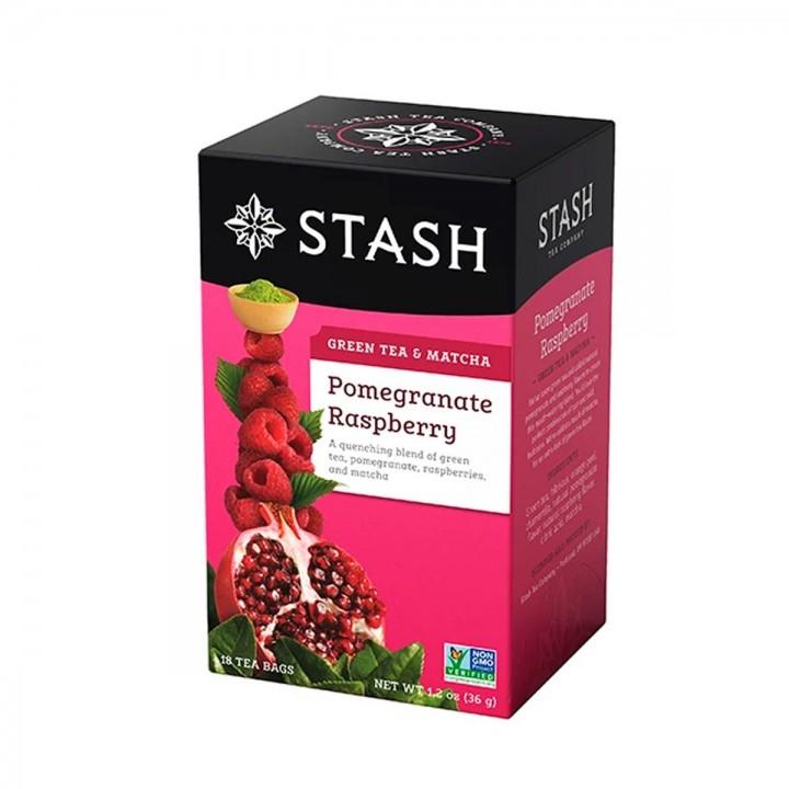 Te STASH Green Tea & Matcha Pomegranate Rasperry -Tienda 306