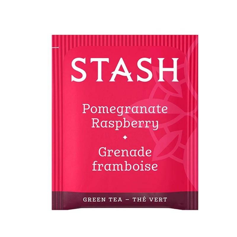 Te STASH Green Tea & Matcha Pomegranate Rasperry 18 Bolsitas 36 g T2011 STASH