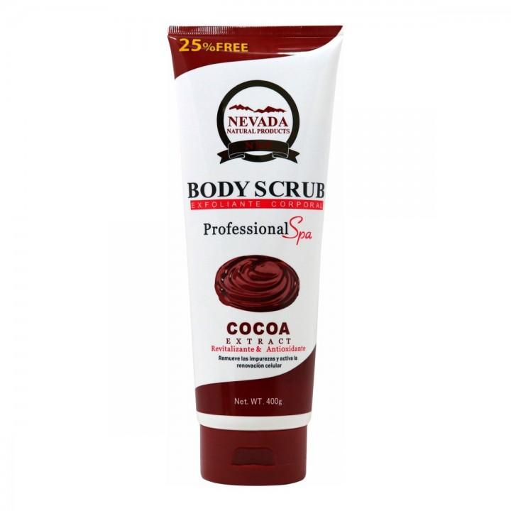 Nevada Exfoliante corporal Cocoa 400g C1050 Nevada Natural Products