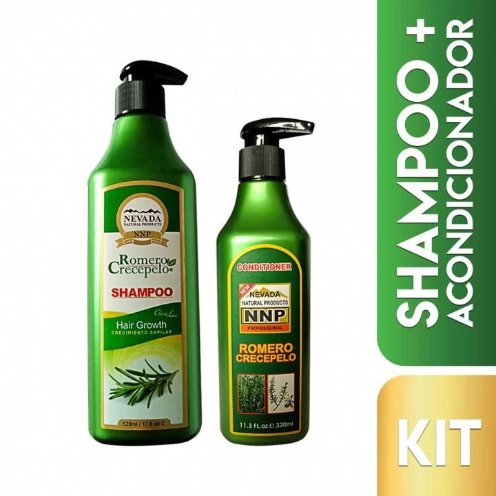 Nevada Kit Capilar Crecepelo Shampoo + Acondicionador 520 ml + 320 ml C1147 Nevada Natural Products