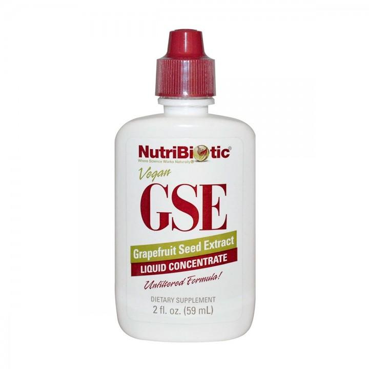 Extracto de Semilla de Pomelo Nutribiotic 2 Oz 59 mL Vegetariano V3103 NutriBiotic