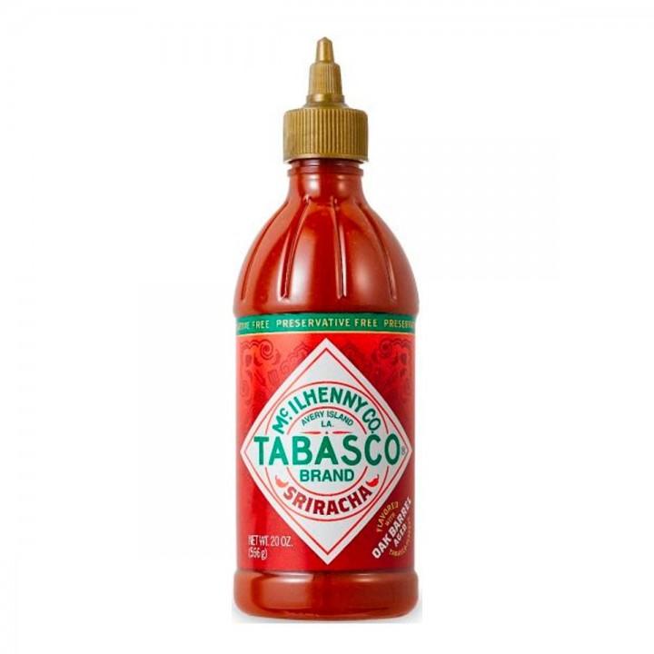 TABASCO Salsa Sriracha Intensidad Alta  combinación de sabores picantes, dulces y salados Tienda 306