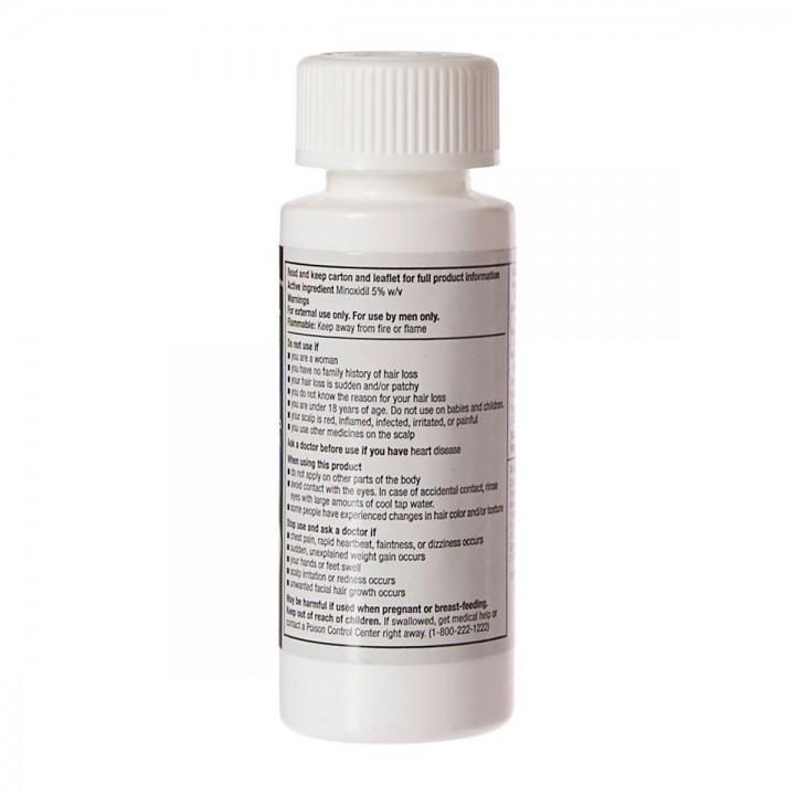 Kirkland Minoxidil Solucion Topica 5% Extra Fuerte para Hombre x 6 Botellas 60 ml Total 360 ml C1158 Kirkland Signature