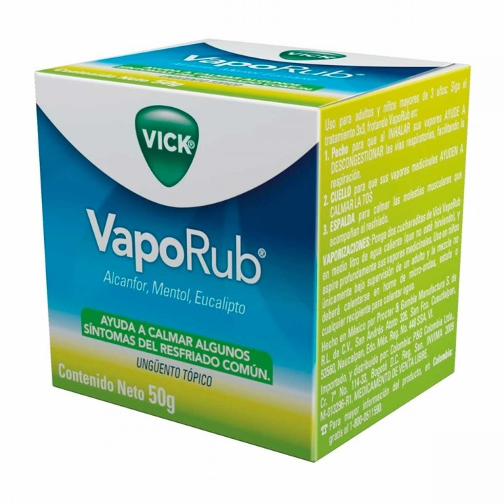 VICK VapoRub Alcanfor,...