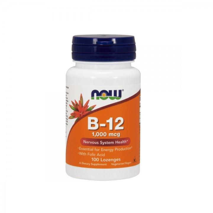 Vitamina B-12 Con Acido Folico Now Foods Tienda 306
