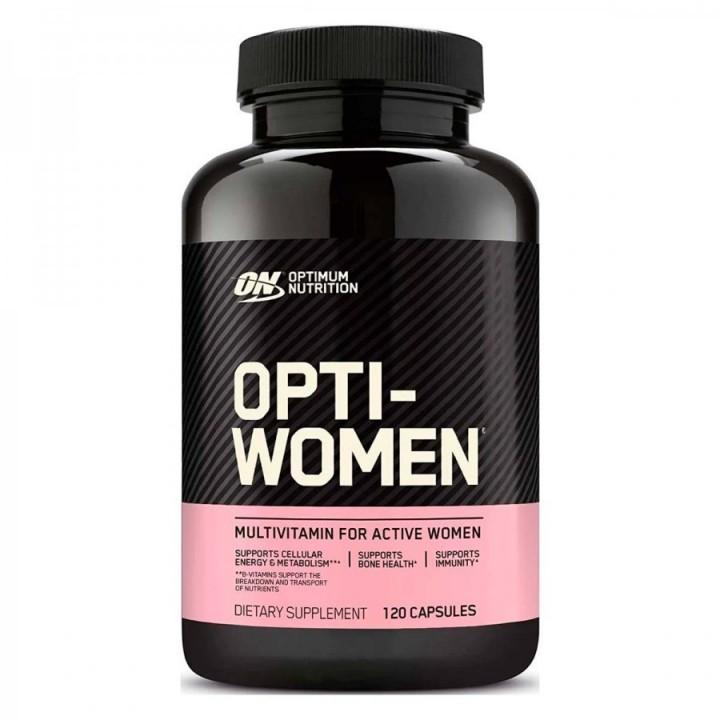 ON Optimum Nutrition Opti-Women Suplemento Multivitaminico para Mujer V3084 Optimum Nutrition