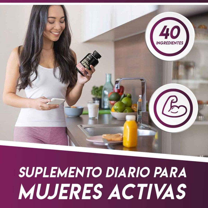 ON Optimum Nutrition Opti-Women Mejora tu rendimiento Tienda 306