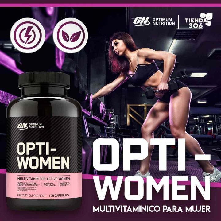 ON Optimum Nutrition Opti-Women Brinda vitalidad general Tienda 306