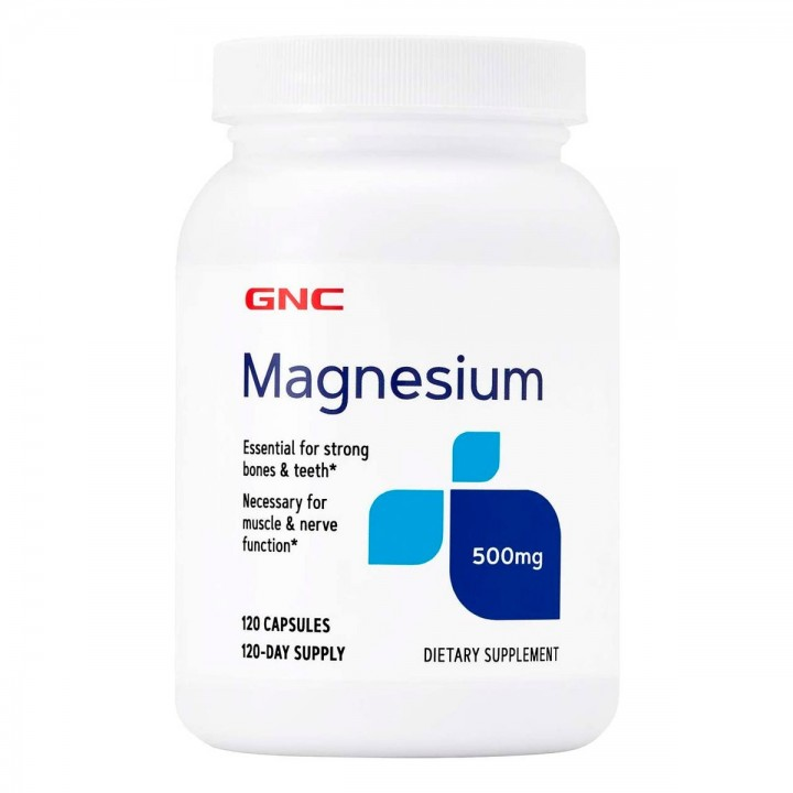 GNC Magnesio 500 Mg Tienda 306