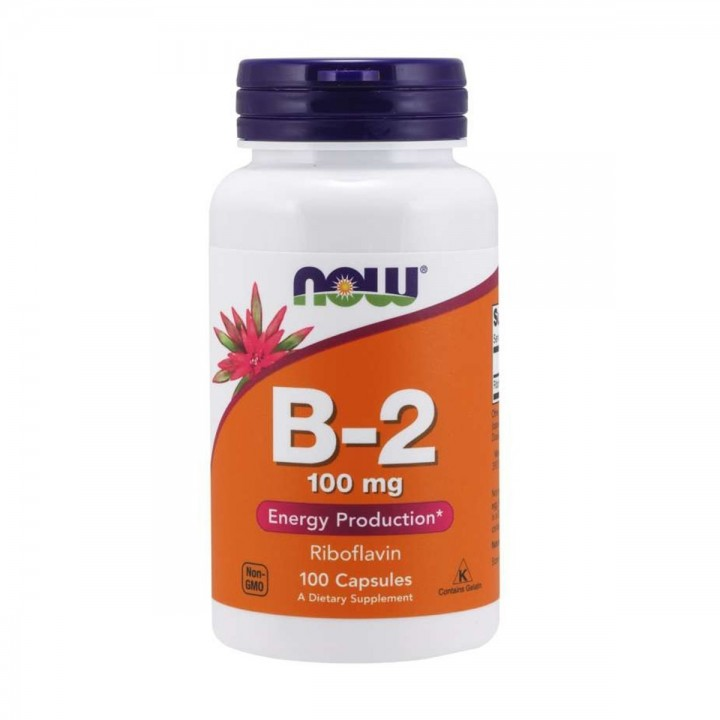 Now Foods Vitamina B-2  100...