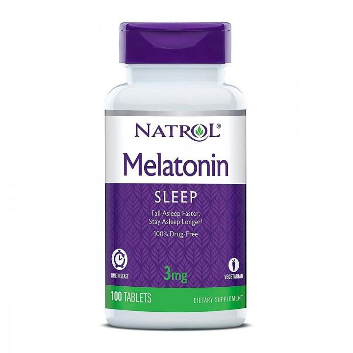Natrol Melatonina 3 mg 100 tabletas para dormir bien - Tienda 306
