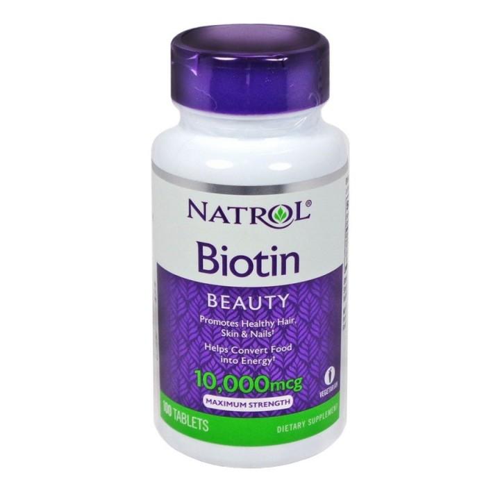 Biotina Fortalece Cabello, Piel y Uñas