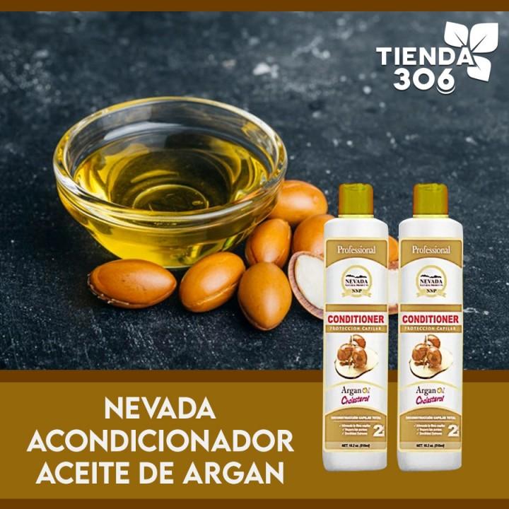 Nevada acondicionador Aceite de Argan Cholesterol 510 ml Reconstruccion Capilar Total C1128 Nevada Natural Products