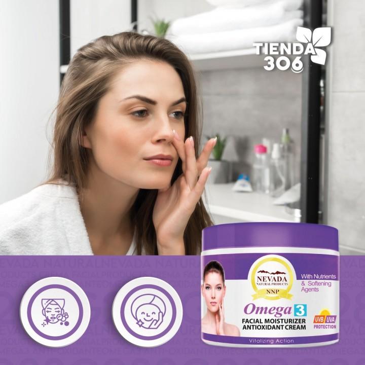 Nevada Natural Products Crema Facial Omega3 Anti-Oxidante 283g C1061 Nevada Natural Products