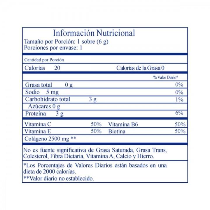Benet Colageno Hidrolizado sobre 5,8g V3034 benet