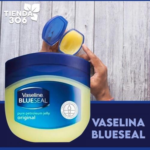 Vaselina BLUESEAL 100% Pure Petroleum Jelly de Vaseline Made in the USA 1.76 Oz (50g) C1095 Vaseline