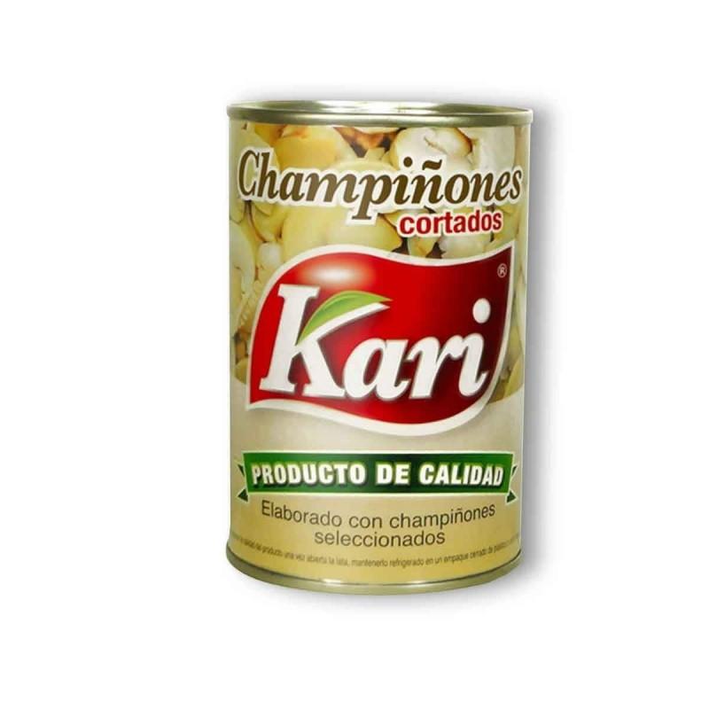 Kari Champiñones en Conserva 425 g D1172 Kari