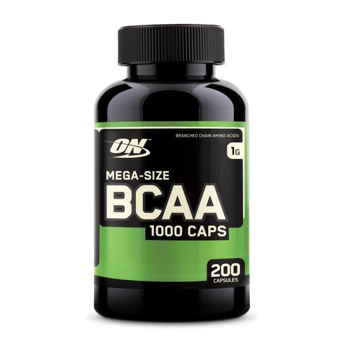 BCAA Optimum Nutrition 1000 Caps Suplemento Multivitaminico 200 Capsulas V3083 Optimum Nutrition