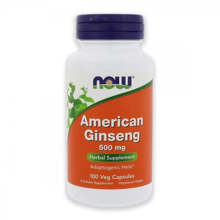 Ginseng Americano Now Foods 500 Mg mejorar la salud cardíaca Tienda 306