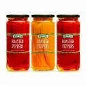 Nestos Foods Pimientos Asados en Salmuera 3 Frascos 453 gr D1178 Nestos Foods